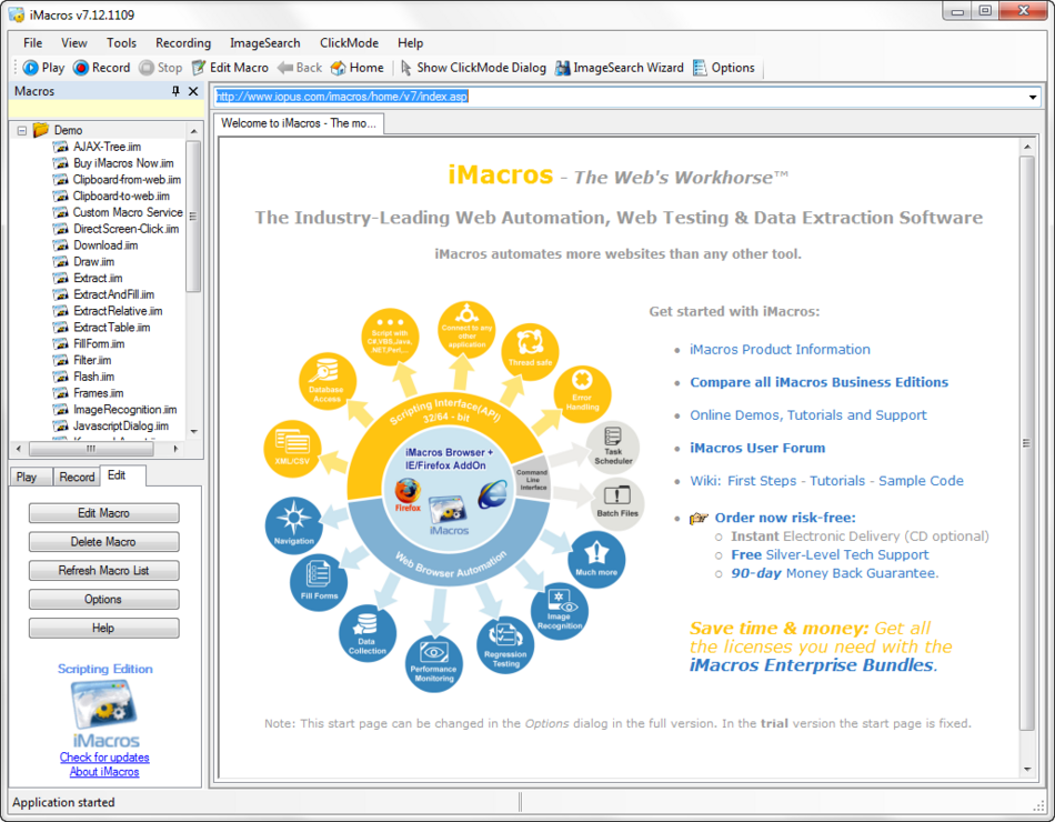 iMacros - Software Testing Tools Guide