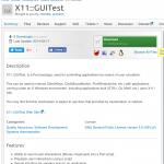 X11::GUITest