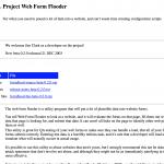 Web Form Flooder