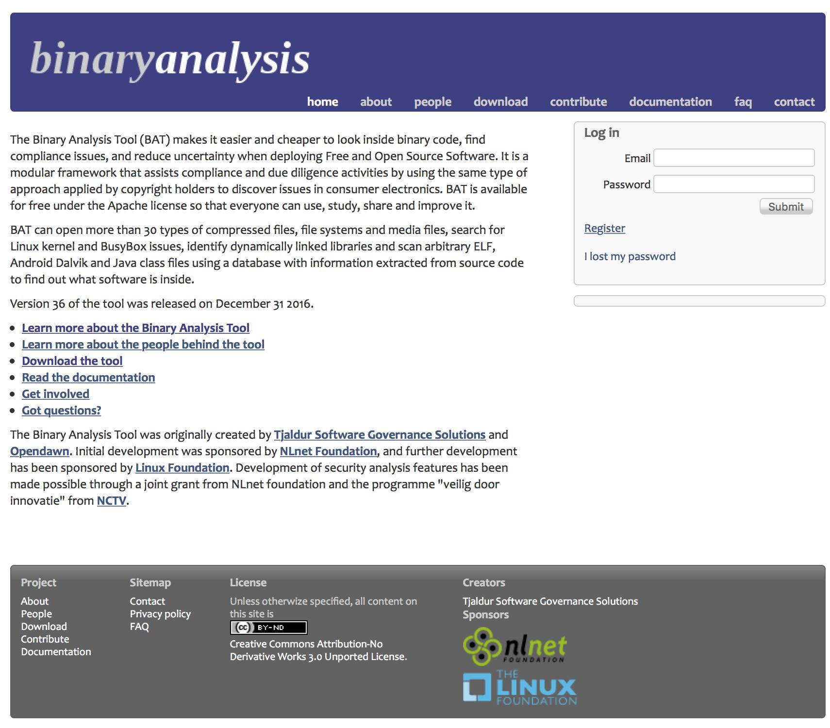 Binary Analysis Tool - Software Testing Tools Guide