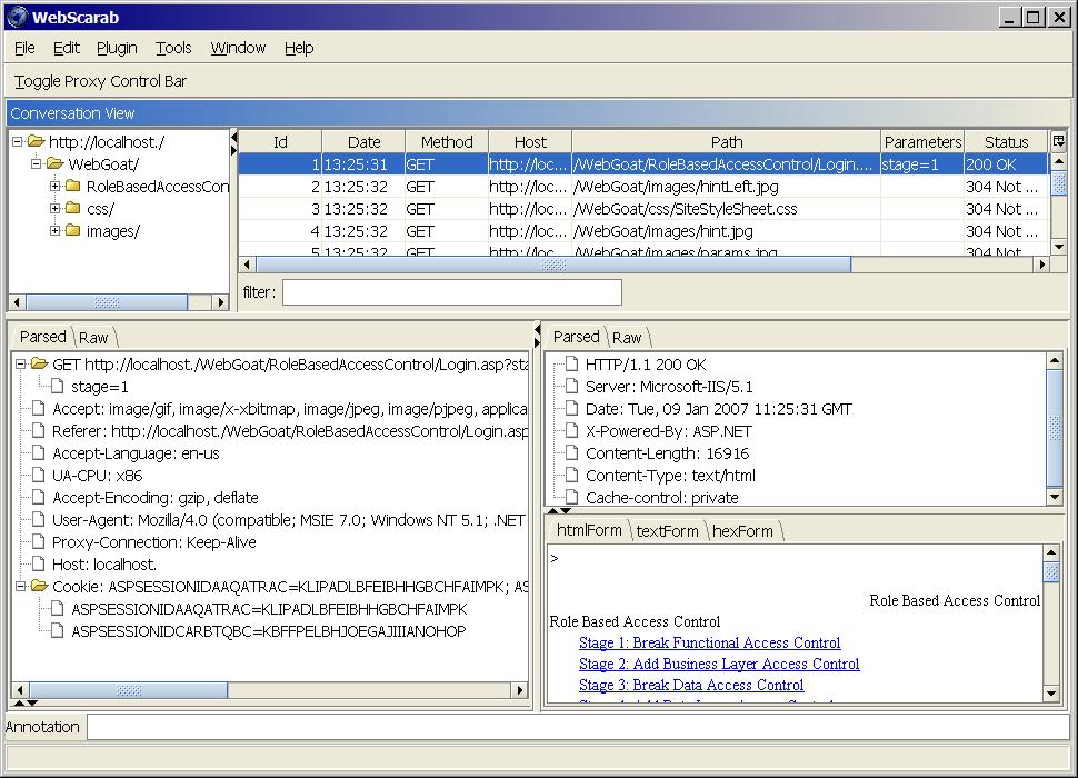 webscarab windows