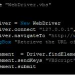 VBS WebDriver