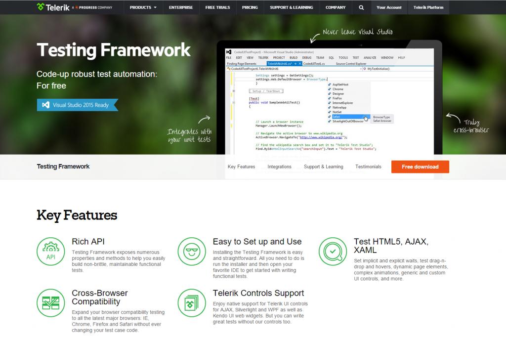 Testing Framework - Software Testing Tools Guide